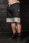 APE ELITE SHORTS - BLACK / GREY