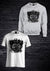 ARMY OF APES SWEATSHIRT & TEE COMBO - GREY & WHITE