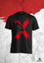 XAPE 'CREEPER' TEE - BLACK/RED