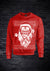 APE FATHER CHRISTMAS SWEATSHIRT - RED