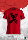 XAPE 'ORIGINS' TEE - RED/BLACK