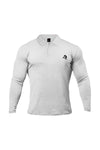 XAPE LONG SLEEVE POLO - WHITE