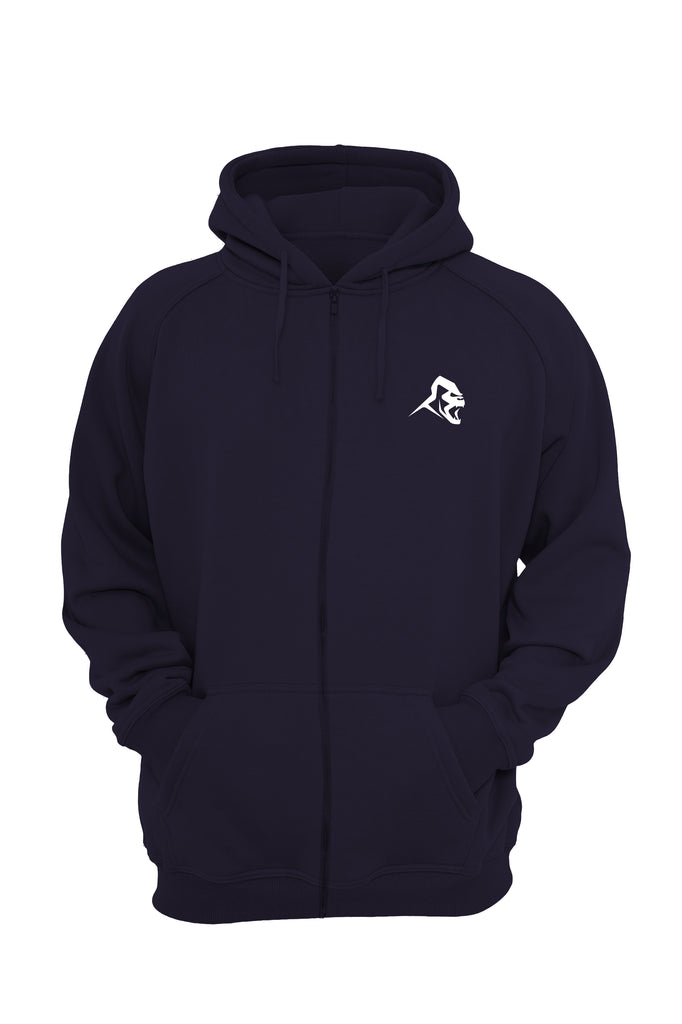 XAPE CLASSIC ZIPPED HOODIE -  FRENCH NAVY