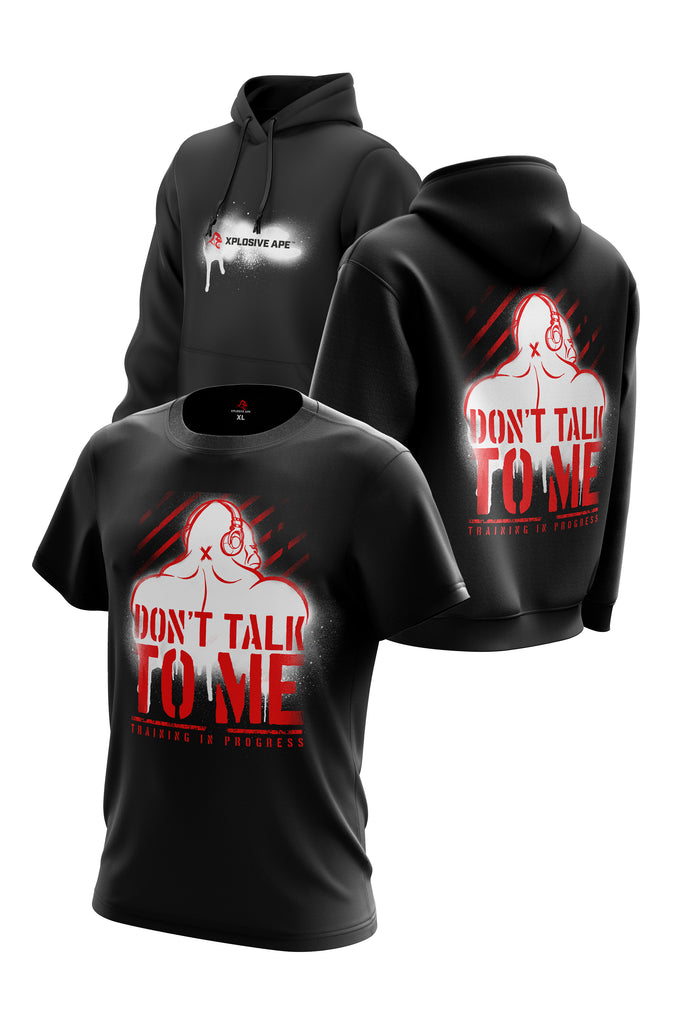 XAPE DON'T TALK TO ME TEE & HOODIE