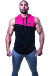 APE ULTIMATE HOODIE MUSCLE TOP - PINK