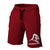 APE ULTIMATE ORIGINAL SHORTS - BURGUNDY