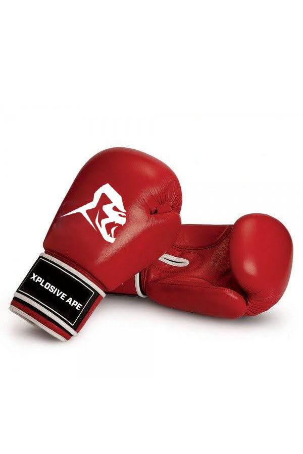 XAPE BOXING GLOVES - RED