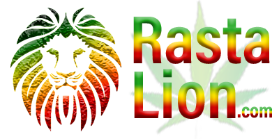 Rasta Lion Logo central