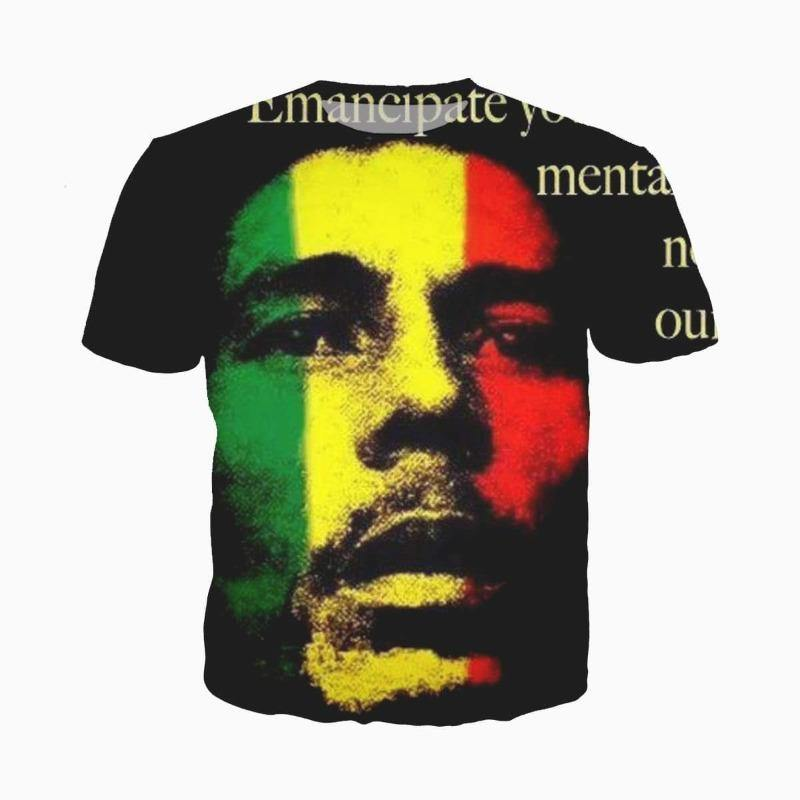 "T-shirt Bob Marley "" Redemption Song"" 