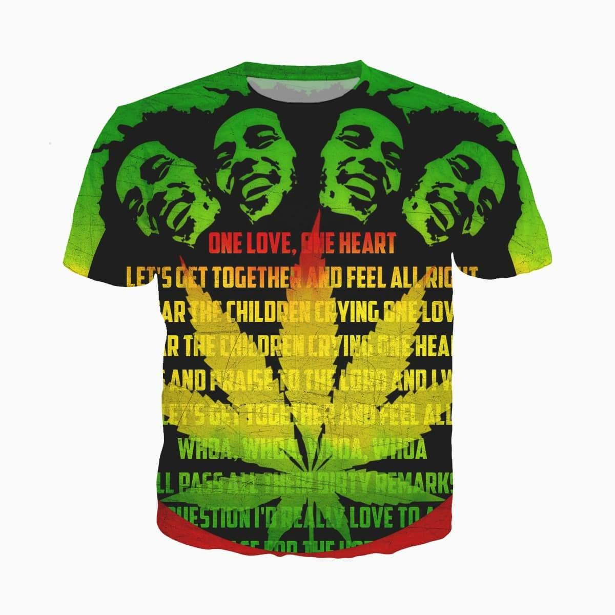 "T-shirt Bob Marley ""One Love"" 
