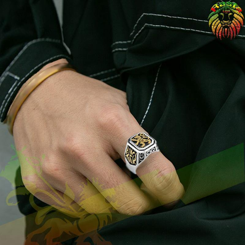 Bague Lion of Juda | Rasta-Lion
