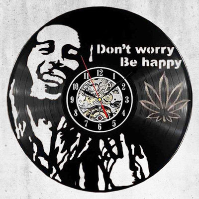 Horloge Bob Marley don't worry be happy | Rasta-Lion