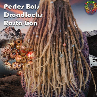 Perles Dreadlocks | Rasta-Lion