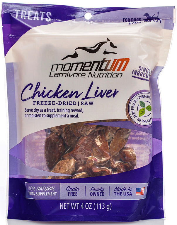 Chicken Liver Momentum Carnivore Healthy Snacks For Cats And Dogs Momentumcn