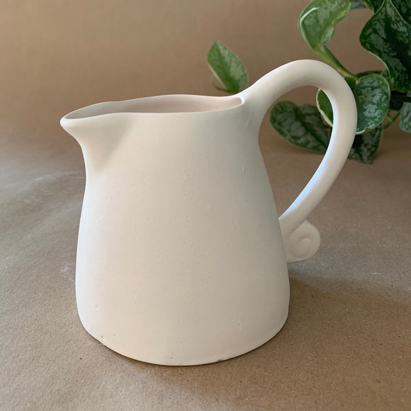 Milk Jug (curly handle)
