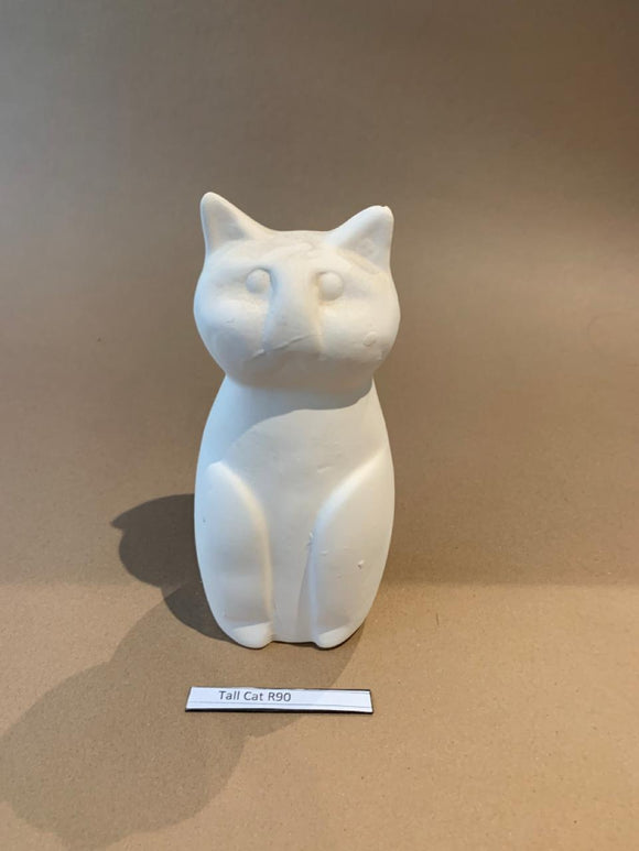 Tall Cat Figurine