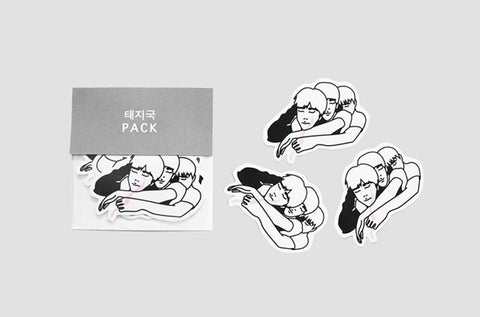 Taejikook Sticker Pack -  - Angst Child