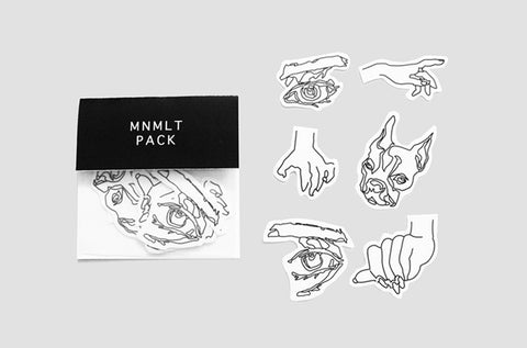 Mnmlt Sticker Pack -  - Angst Child