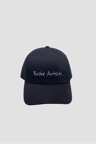 Black Broke Artist Cap - Hat - Angst Child