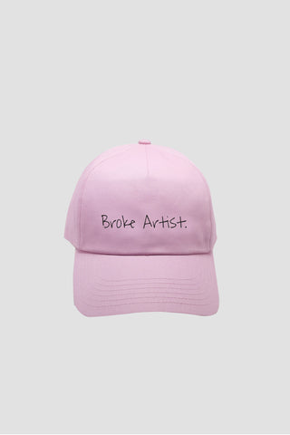 Pink Broke Artist Cap - Hat - Angst Child