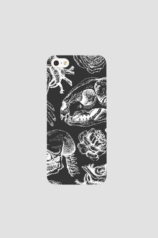 Black illustration phonecase - Phonecase - Angst Child