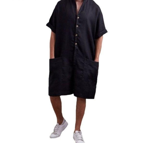 Romper Kaftan with Pockets