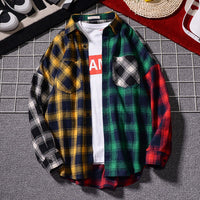 Flannel Color Block