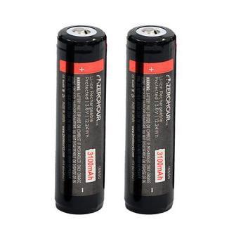 2-Pack: 18650 20A High-Drain 3100mAh Battery