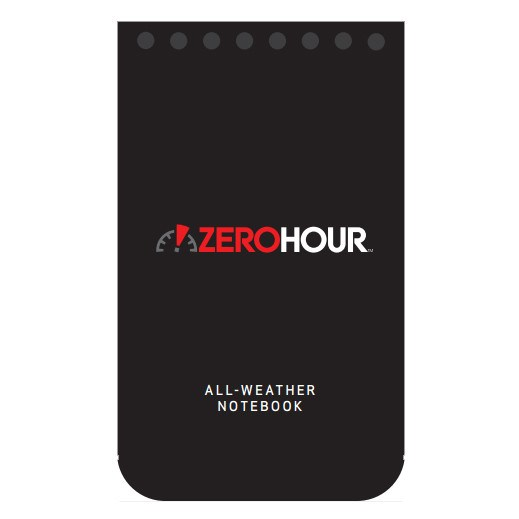 ZeroHour All-Weather Notebook