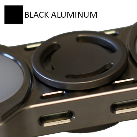 Low Profile Black Aluminum Buttons for REBEL Spinner (PRE-ORDER)