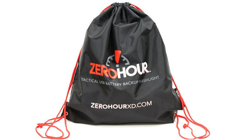 ZeroHour Drawstring Bag