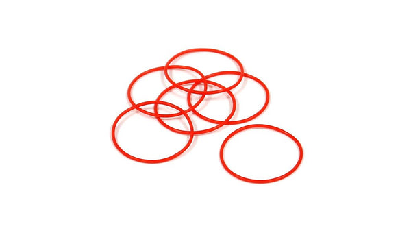 ZeroHour XD O-Rings for Body Tubes - 6-Pack - Red