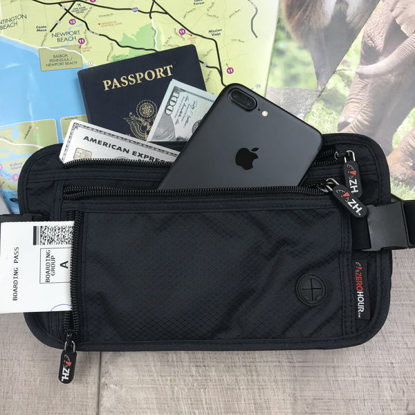 ZIP: The Ultimate Travel Waist Pack and RFID Money Belt