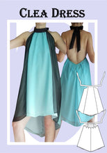 Load image into Gallery viewer, Clea dress Sewing Pattern