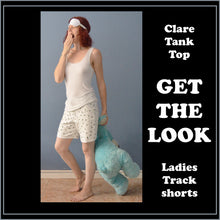 Load image into Gallery viewer, Clare tank top sewing pattern