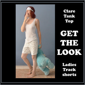 Clare tank top sewing pattern