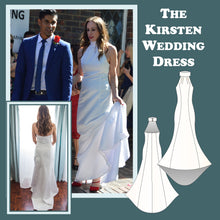 Load image into Gallery viewer, The Kirsten wedding dress sewing pattern