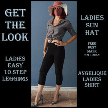 Load image into Gallery viewer, Get the look 006 sewing pattern pack