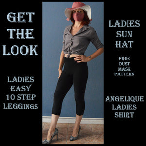 Get the look 006 sewing pattern pack