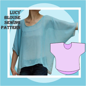 Lucy blouse sewing pattern