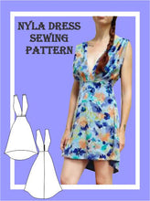 Load image into Gallery viewer, Nyla dress Sewing Pattern