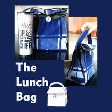 Load image into Gallery viewer, Easy Lunch Bag Sewing Pattern