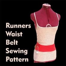 Load image into Gallery viewer, Sewing Pattern: Runner's Slip on Belt