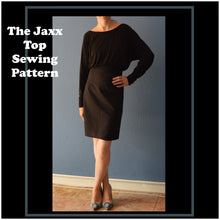 Load image into Gallery viewer, The Jaxx top sewing pattern