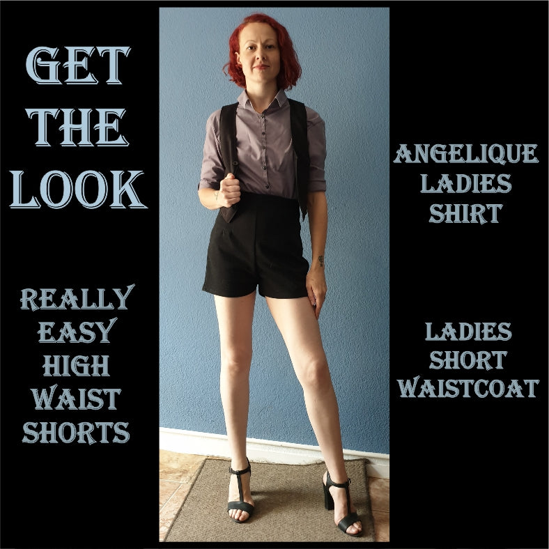 Get the look 004 sewing pattern pack
