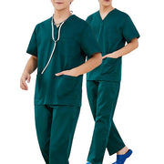 Unisex Plus Size Scrubs Uniforms top and pants