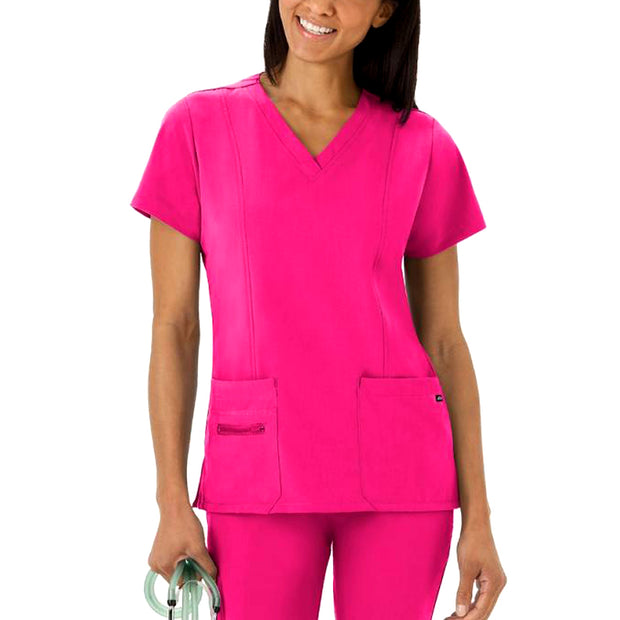 Short Sleeve Jogger Figs Designer Custom Nurse Scrubs Uniform With Logo