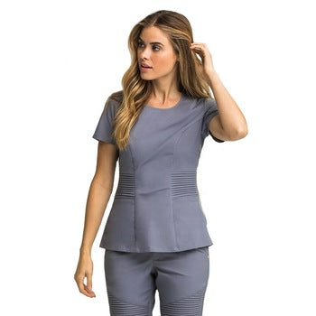 Workwear Comfortable Practical Professional Scrub Top Salon SPA Uniform