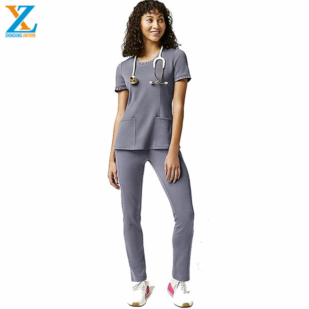 Greys anatomy short sleeve medical scrubs