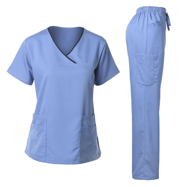 Good Quality Men's Scrubs Nursing Uniform